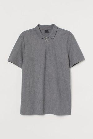 H&M 1/4-Zip Polo Shirt