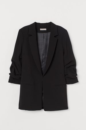 H&M Jacket with Gathered Sleeves