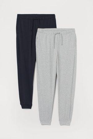 H&M 2-pack Jersey Pajama Pants