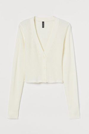 H&M Ribbed Cardigan
