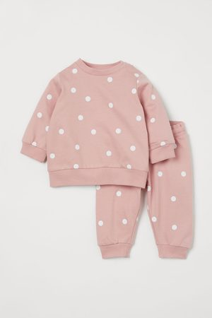 H&M 2-piece Sweatshirt Set
