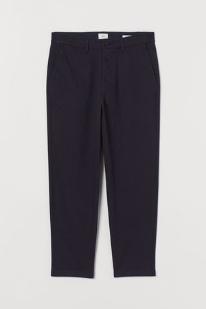 H&M Slim Fit Cropped Chinos