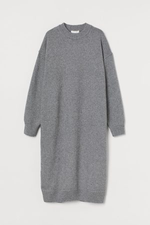 H&M Women Knitted Dresses - Knit Dress