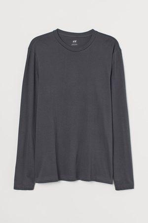 H&M Long-sleeved Regular Ft Shirt