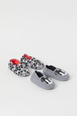 H&M 2-pack Soft Slippers