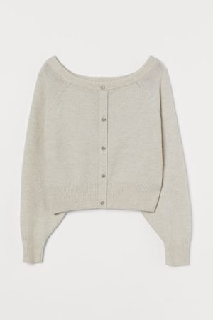 H&M Boat-neck Sweater