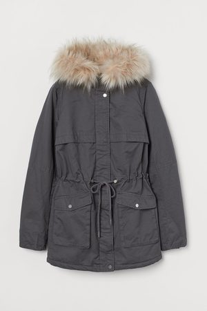H&M Faux Shearling-lined Parka