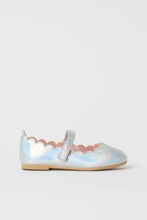 H&M Shimmery Ballet Flats