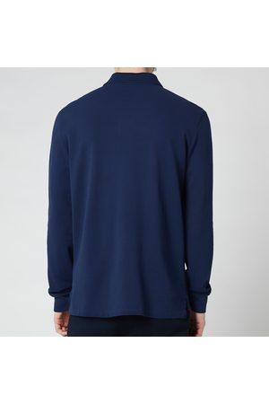 Polo Ralph Lauren Men Polo Shirts - Men's Slim Fit Mesh Long Sleeve Polo Shirt