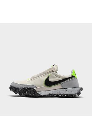 Nike Women Casual Shoes - Women's Waffle Racer Crater Casual Shoes Size 6.5 Suede/Twill