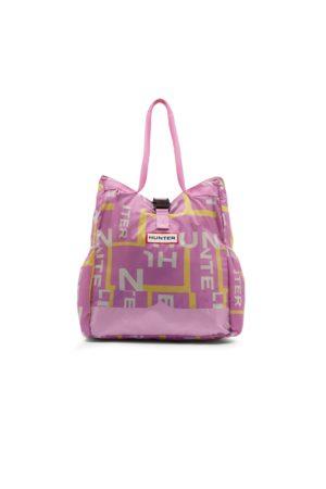 Hunter Women Tote Bags - Original Exploded Logo Ripstop Packable Tote Bag