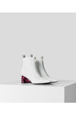 Karl Lagerfeld K-Blok Ankle Zip-Up Boot