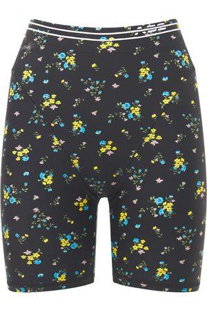 Adam Selman Sport Women Shorts - French Cut Biker Shorts
