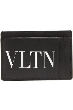 VALENTINO GARAVANI Vltn-print Leather Cardholder - Mens