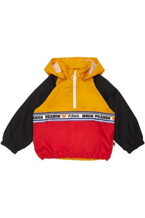 Mini Rodini Girls Rainwear - Recycled Nylon Rain Jacket