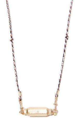 Marie Lichtenberg Baby Coco Diamond & 14kt Necklace - Mens - Multi