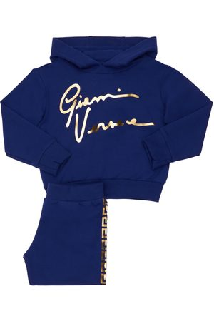 VERSACE Cotton Sweatshirt Hoodie & Sweatpants