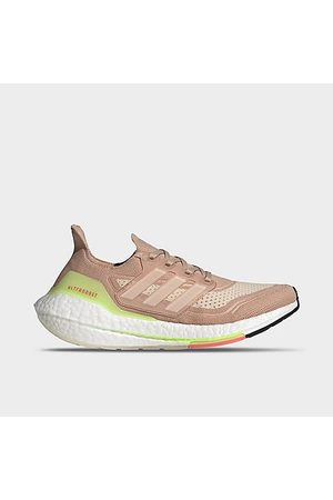 adidas Women's UltraBOOST 21 Running Shoes in /Ash Pearl