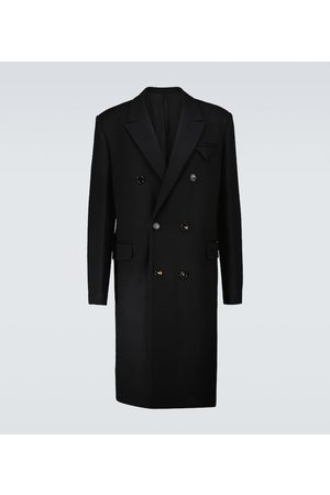 Bottega Veneta Double-breasted wool overcoat