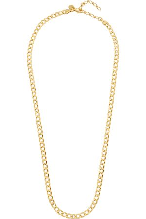 Daisy London X Estée Lalonde 18kt -plated chain necklace