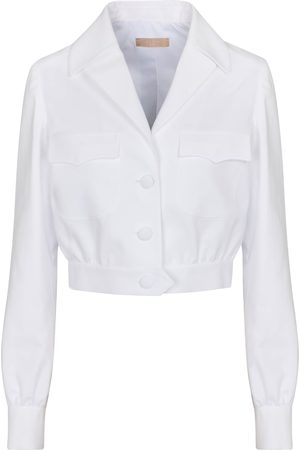 Alaïa Cropped cotton jacket