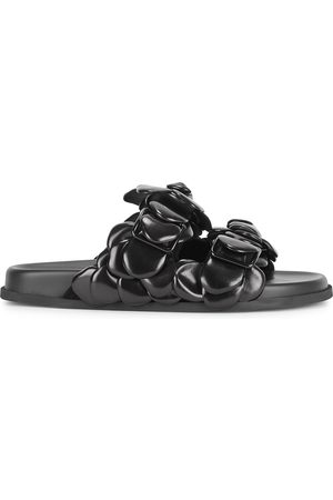 VALENTINO Women Sandals - Garavani Atelier leather sliders