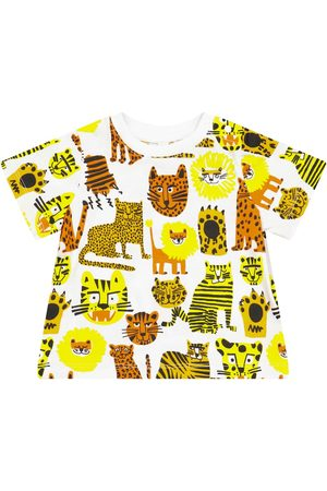 Stella McCartney Kids Baby printed cotton T-shirt