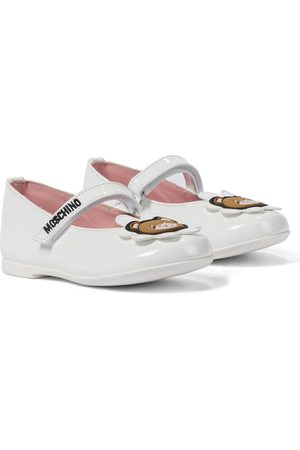 Moschino Patent leather ballet flats