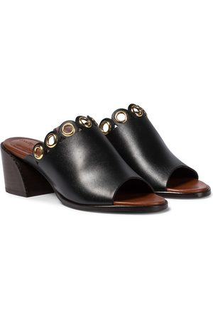 Chloé Embellished leather sandals