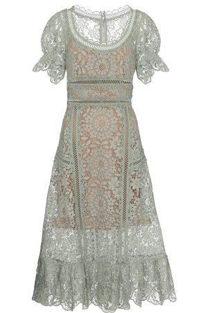 Self-Portrait Women Midi Dresses - Lace midi dress