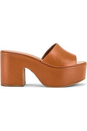 Larroude The Miso Platform Sandal in .