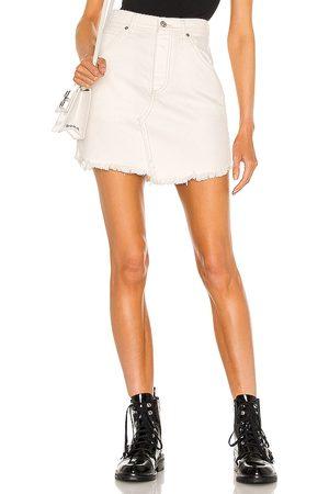 Free People Brea Cutoff Skirt in .