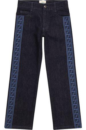 Fendi Girls Straight - FF straight jeans