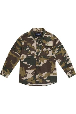 Il gufo Camouflage cotton-blend jacket