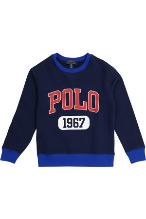 Ralph Lauren Logo cotton-blend sweatshirt