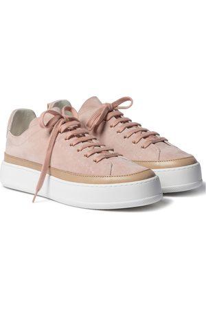 Max Mara Tamila suede sneakers