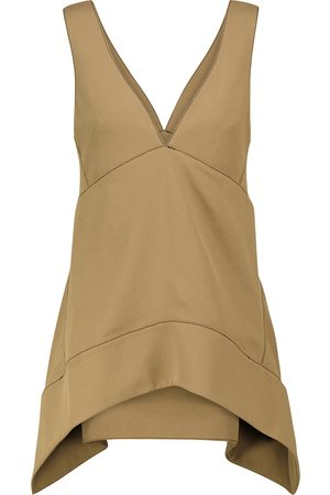 Proenza Schouler Sleeveless asymmetric top