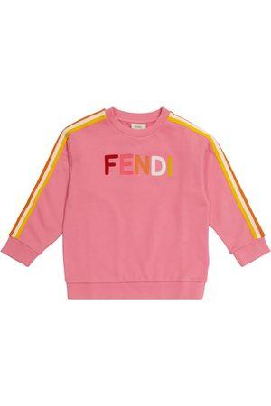 Fendi Logo cotton sweatshirt