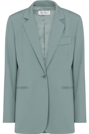 Max Mara Accorta single-breasted wool blazer