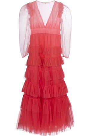 LOVESHACKFANCY Francoise tulle midi dress