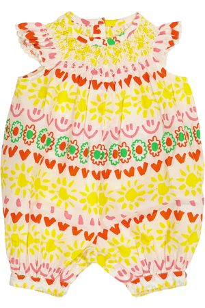 Stella McCartney Baby printed cotton playsuit