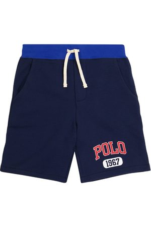 Ralph Lauren Logo drawstring cotton shorts