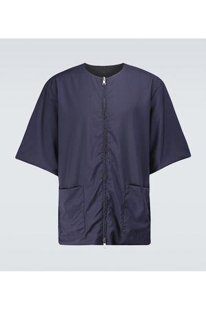 BARENA Salamora Crinkle zipped T-shirt