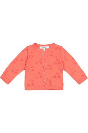BONPOINT Baby pointelle cotton cardigan