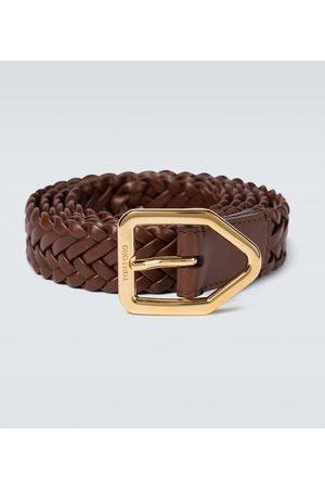 Tom Ford Lonzege leather belt