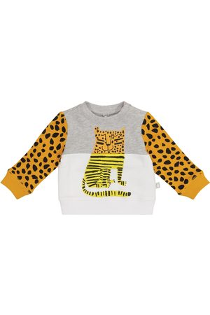 Stella McCartney Baby Cheetah cotton sweatshirt