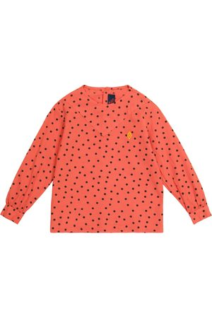 The Animals Observatory Marmot polka-dot cotton blouse