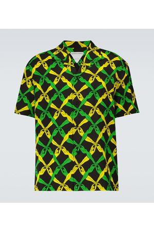 Bottega Veneta Fantasia short-sleeved shirt