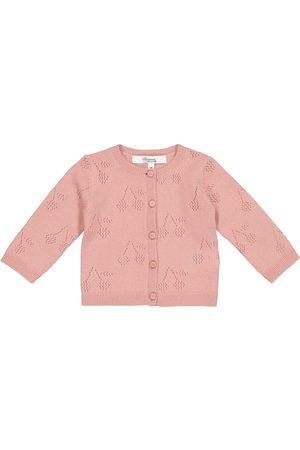 BONPOINT Baby pointelle cashmere cardigan