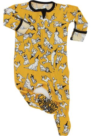 Peregrine Infant Boy's Party Dogs Fitted One-Piece Pajamas